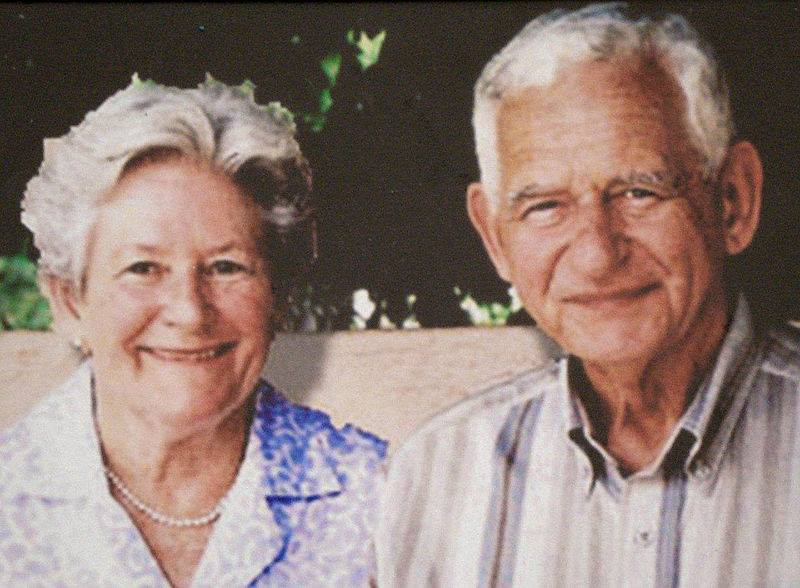 Johan en Suzette de Ridder