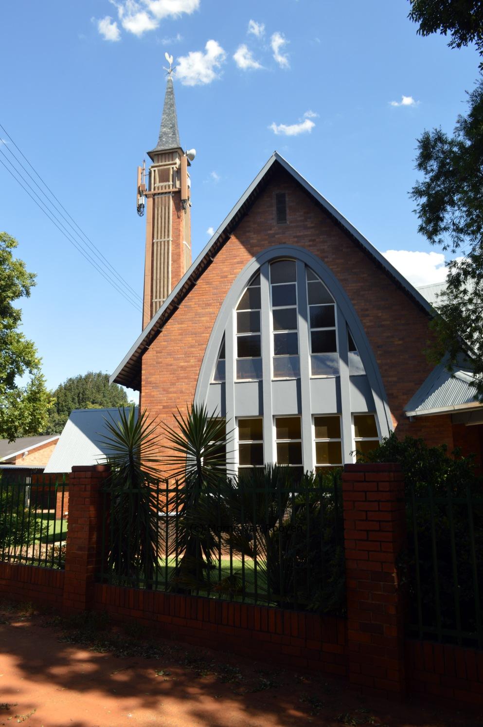 Gereformeerde kerk Pretoria-Wonderboom-Suid, Morné van Rooyen, 2 Januarie 2018