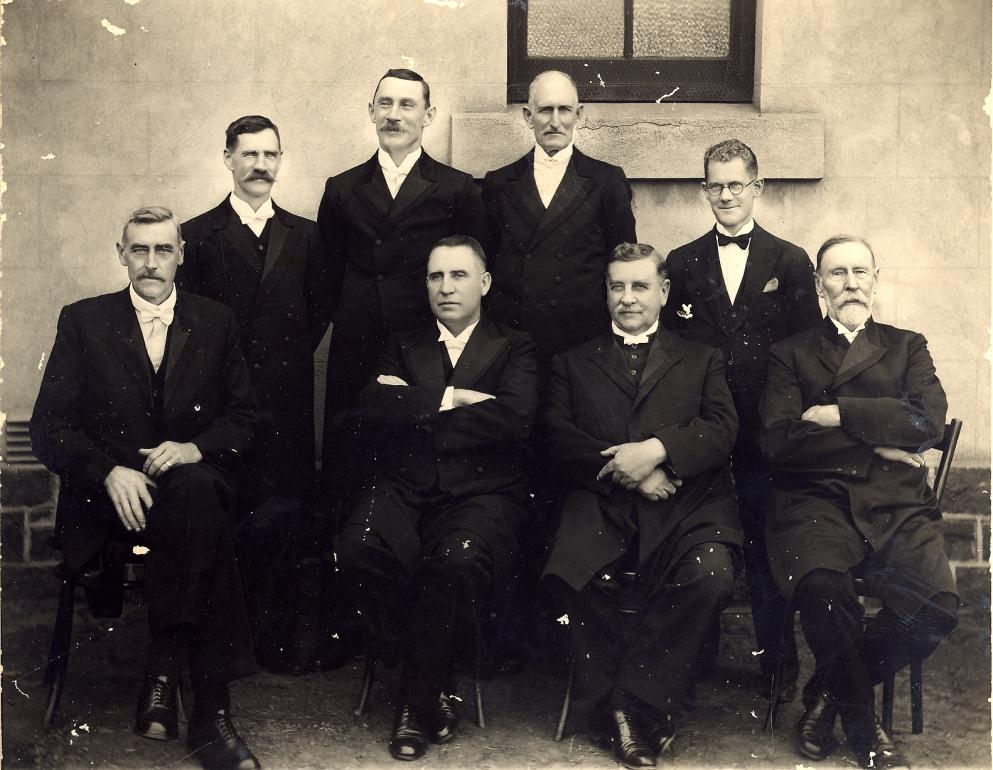 Gk Middelburg Tvl Kerkraad 1918 saam met JC van Rooy & NH van der Walt A75 en 263.jpg