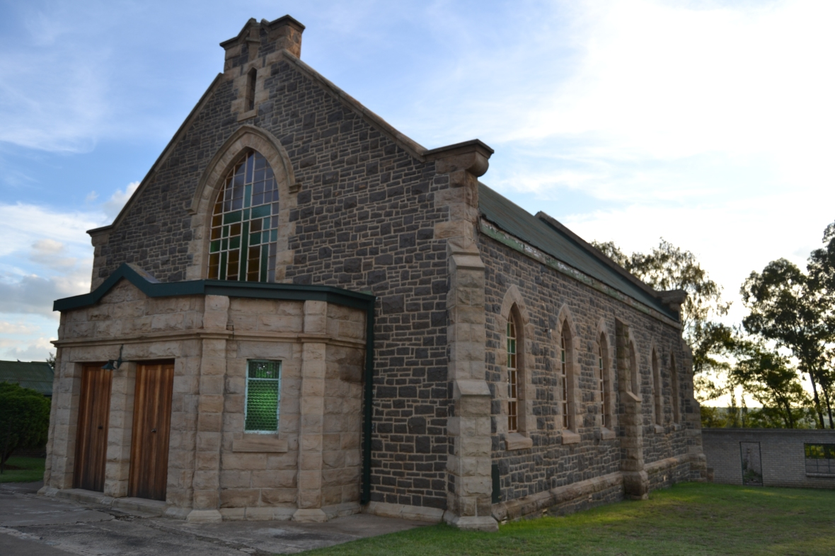 Gereformeerde kerk Frankfort, Rudi van Wyk.JPG