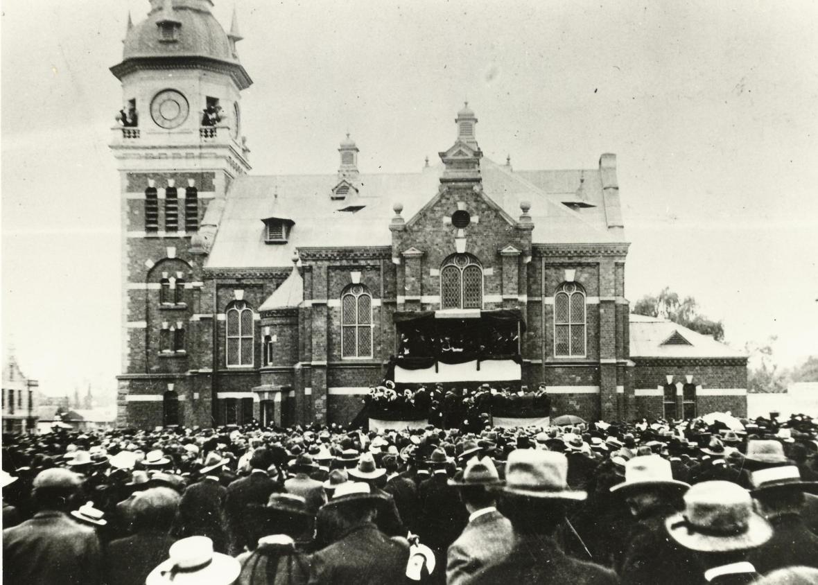 GK Pretoria Herbegrafnis Paul Kruger 1904 1