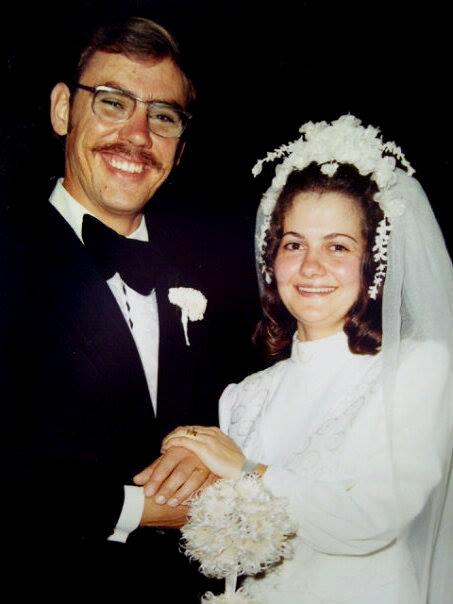 Herman en Corrie trou 5 Oktober 1974