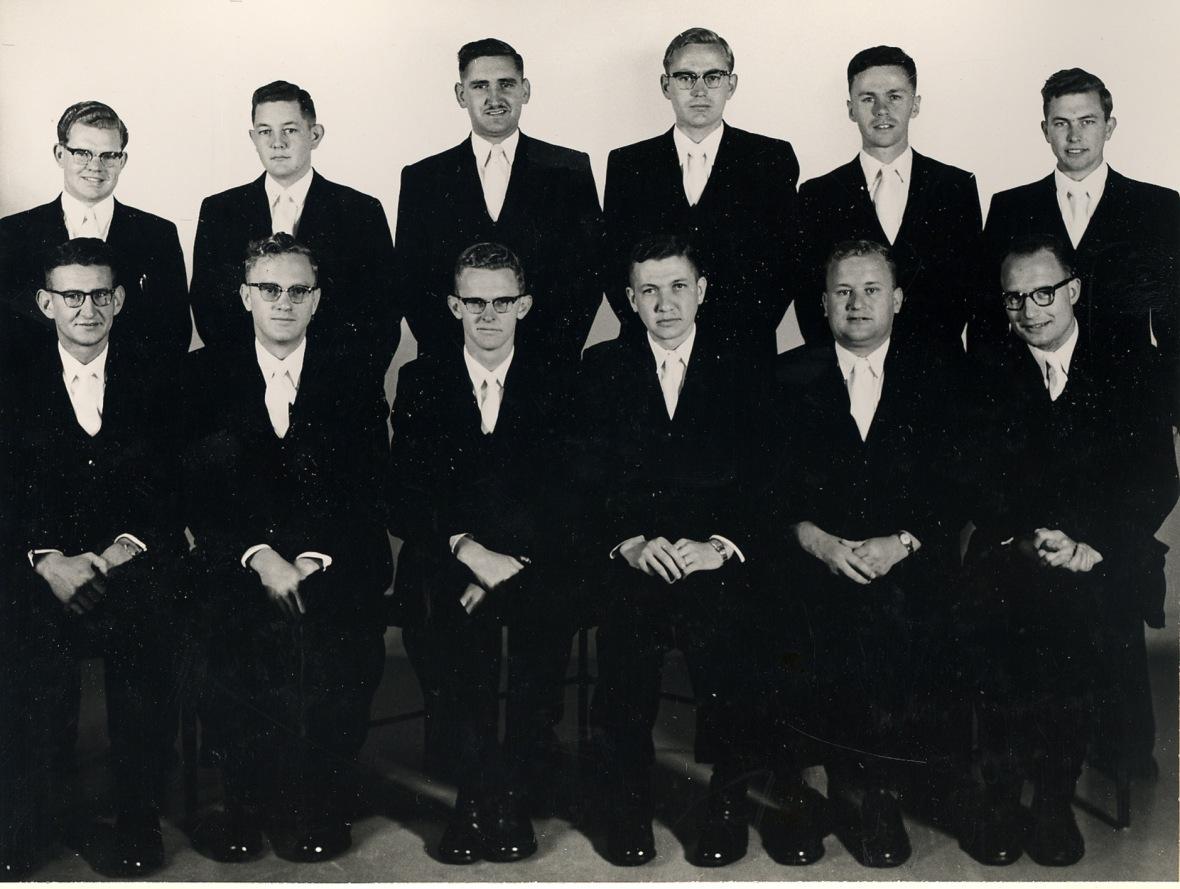 Vierdejaars Teologiese Skool Potchefstroom 1960
