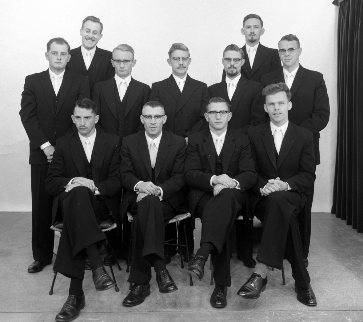 Vierdejaars van die Teologiese Kweekskool 1961.jpg