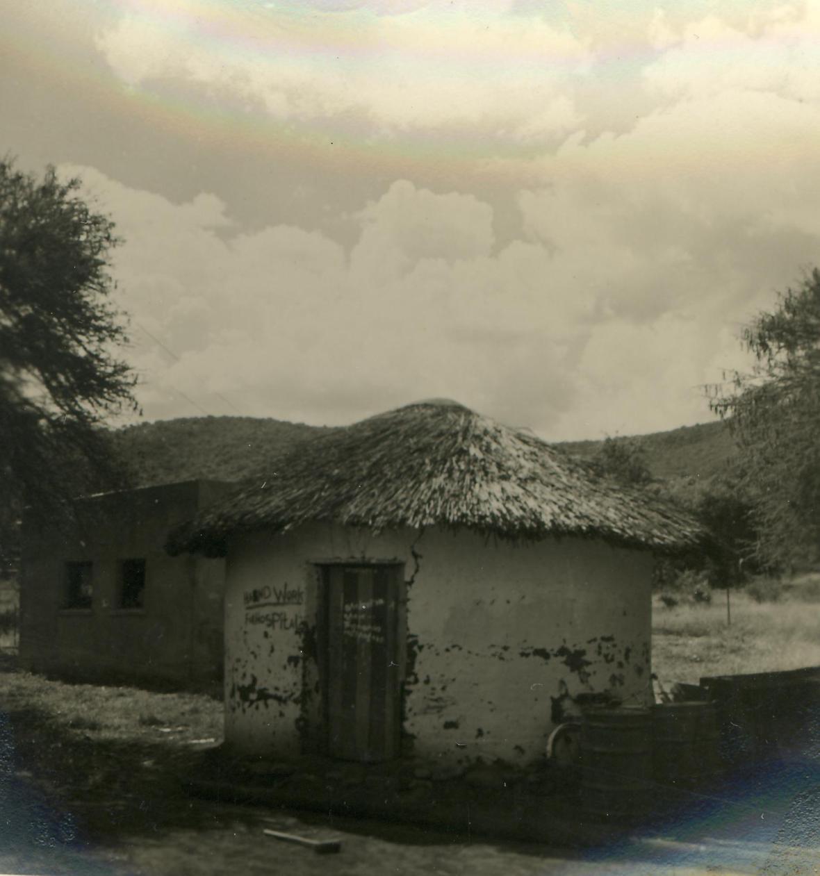 Die eerste hospitaalgebou op Siloam.JPG
