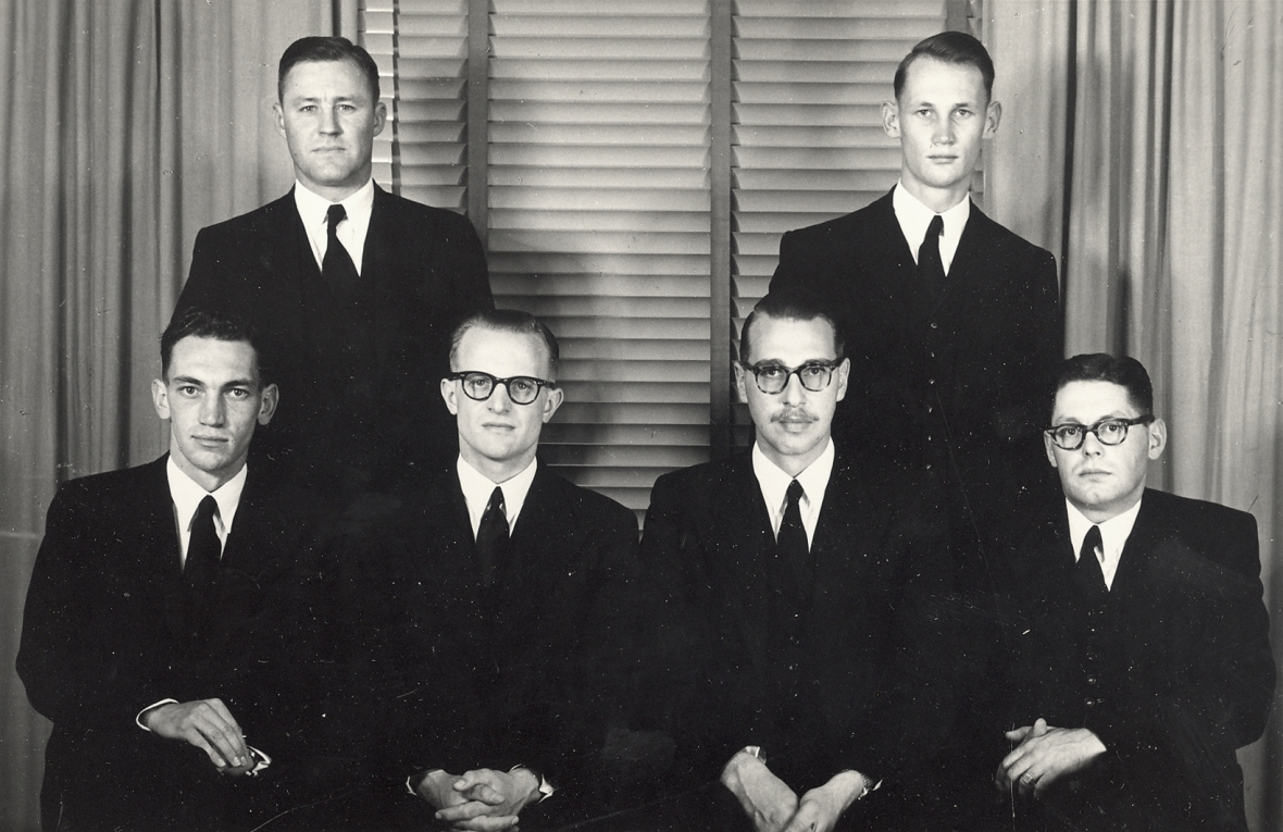 Vierdejaarstudente_aan_die_Teologiese_Skool_Potchefstroom,_1954