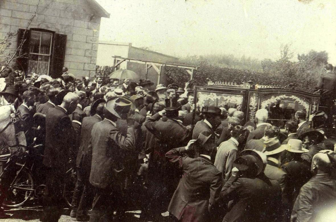 Cachet Jan Lion begrafnis Potchefstroom 1912.jpg