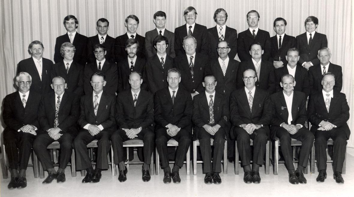 GK Welkom KR tydens 75-jaribe bestaan in Okt 1975. Predikant ds PJ Pelser A226.jpg