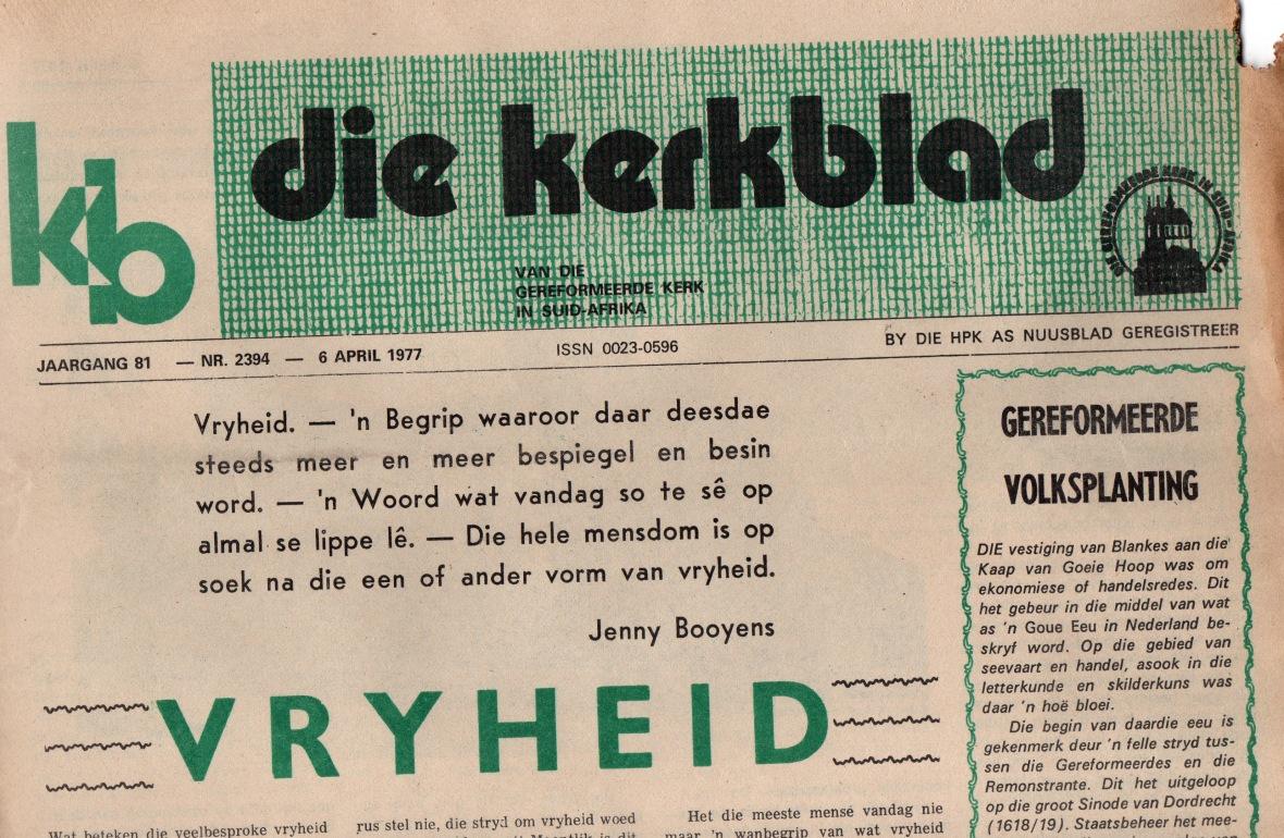 Kerkblad