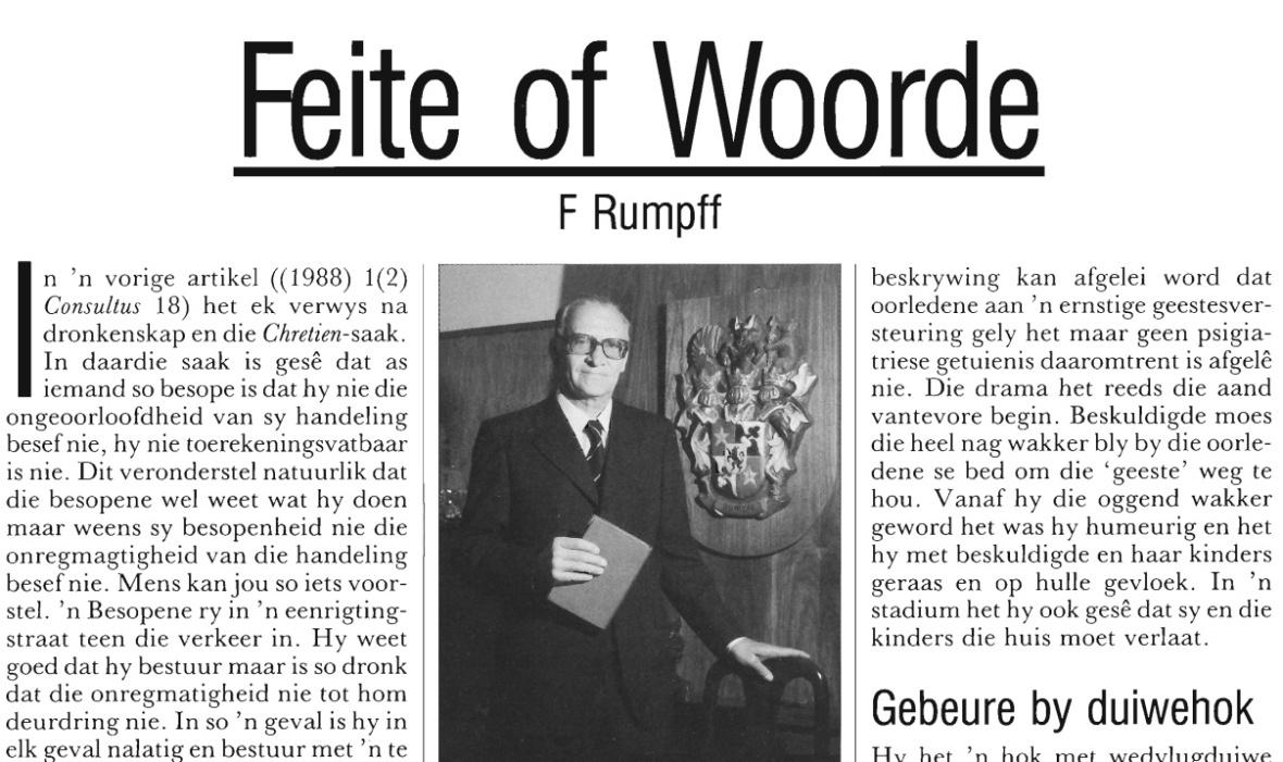Artikel Frans Rumpff Conultus in April 1990