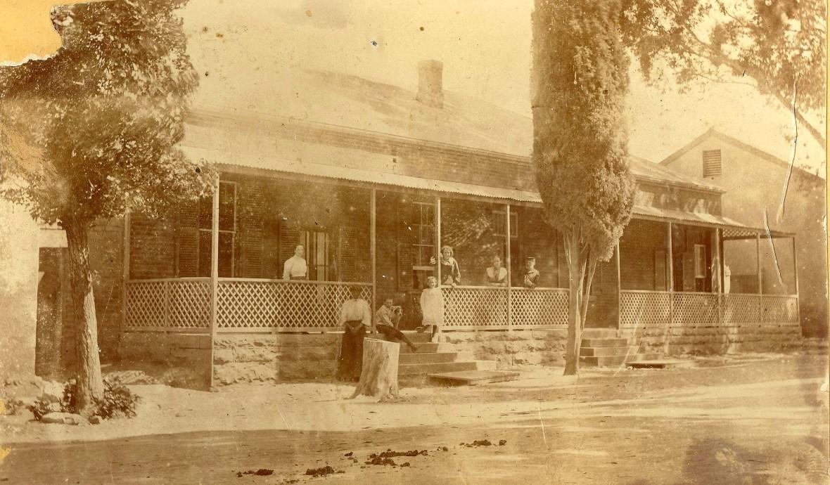 GK Burgersdorp Pastorie aan die begin van 20ste eeu