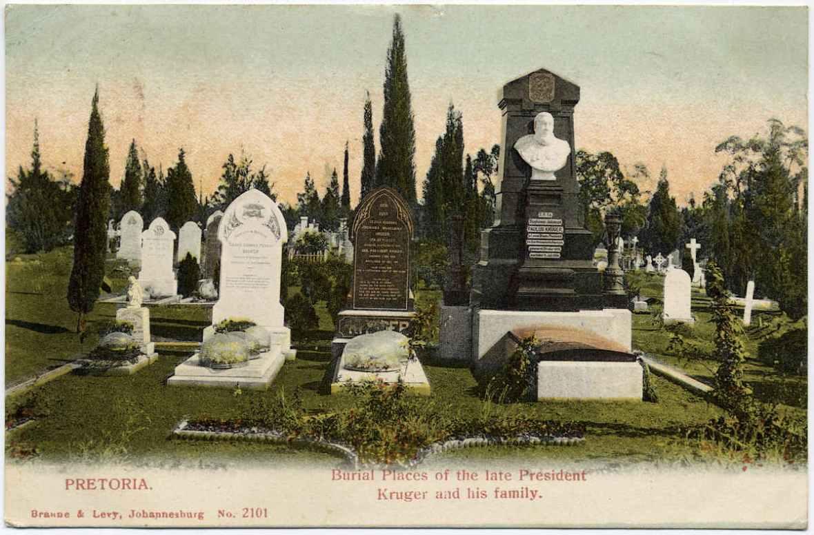 Pretoria Burial place of Pres Paul Kruger _ Family